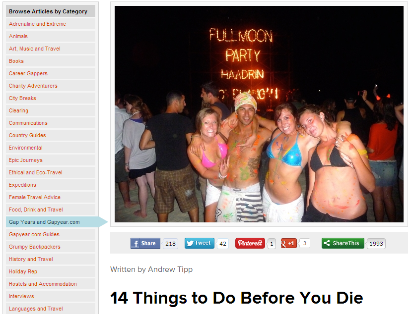 14 Things to Do Before You Die