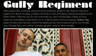 Q and A with Gully Regiment