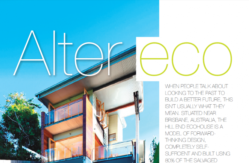 Feature on Modern Eco Homes