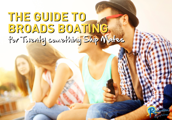 Guide to Broads Boating ebook cover
